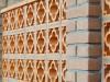 Mediterraner Wand aus Ton