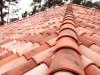 roter romanischer Tondachziegel aus Italien