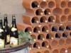 tolles Praesentationselement fuer die Weinlagerung