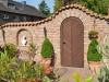 Gartenmauer mit Klinker gemauert