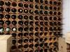 Weinlagerungselement aus Ton