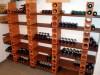 Regalsystem aus Weinlagersteinen
