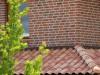 hier sehr schön zu sehen die Gratziegel eines Kranzes am Haus