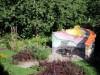 Gartenmauer für eine kleine Sitzecke im Garten