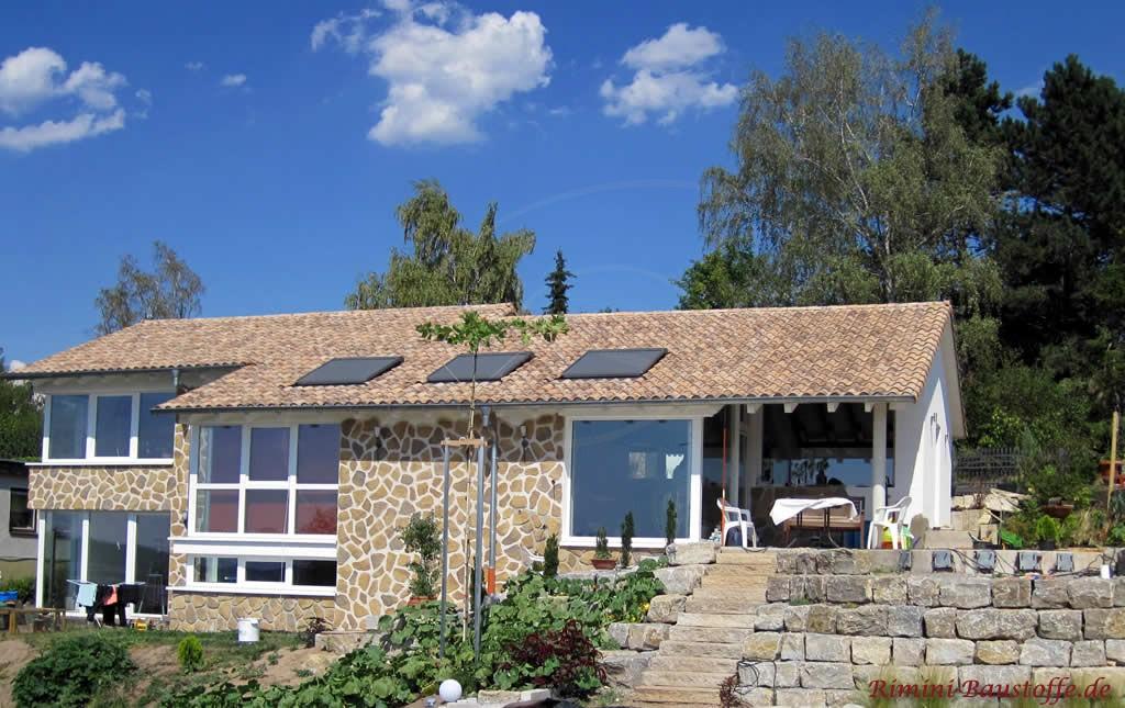 Mediterraner Dachziegel aus Frankreich