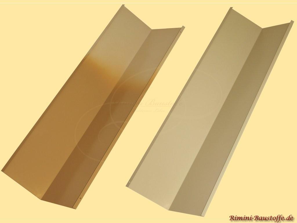 Pulverbeschichtete Kehlbleche individuelle RAL-Farbe