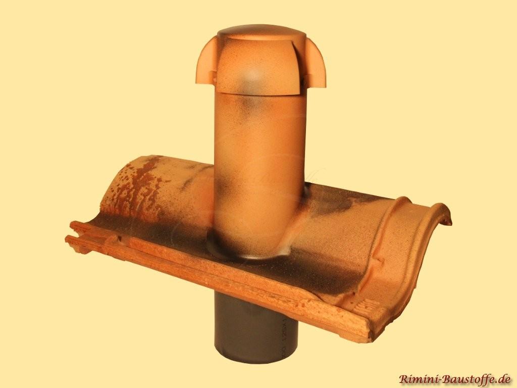 farblich passend angefertigter Sanitaerluefter