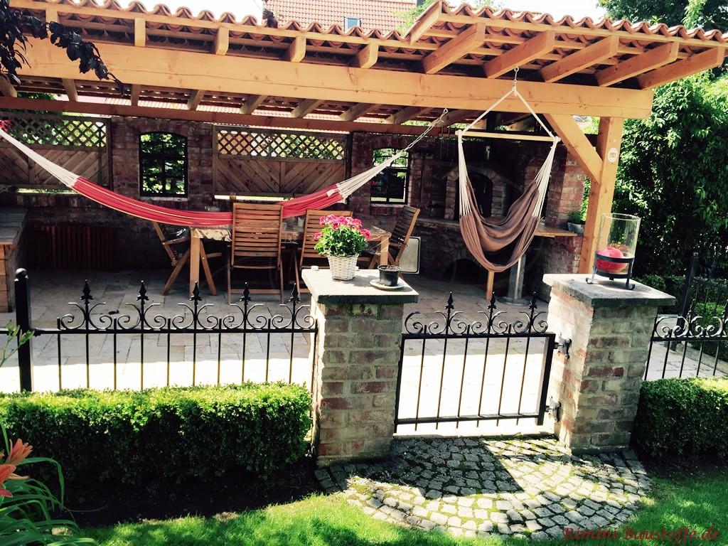Gartenlounge zum Entspannen