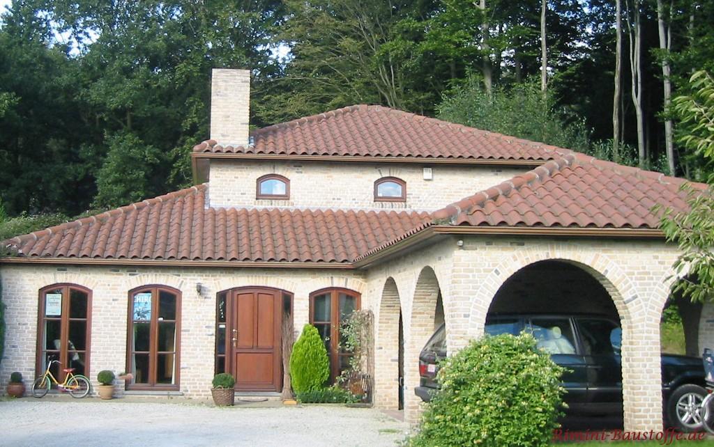 tolles Einfamilienhaus mit sehr harmonischer Farbauswahl