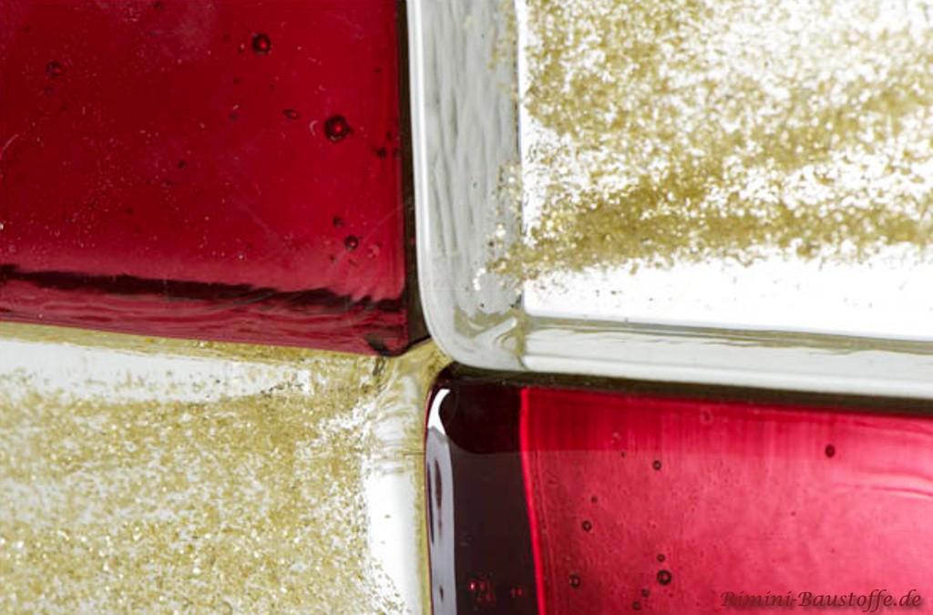 Uebergang der Glasbausteine