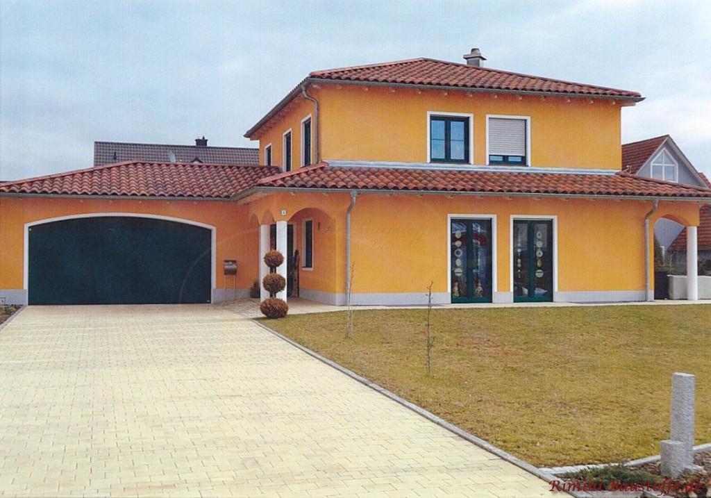 mediterranes Wohnhaus in Deutschland