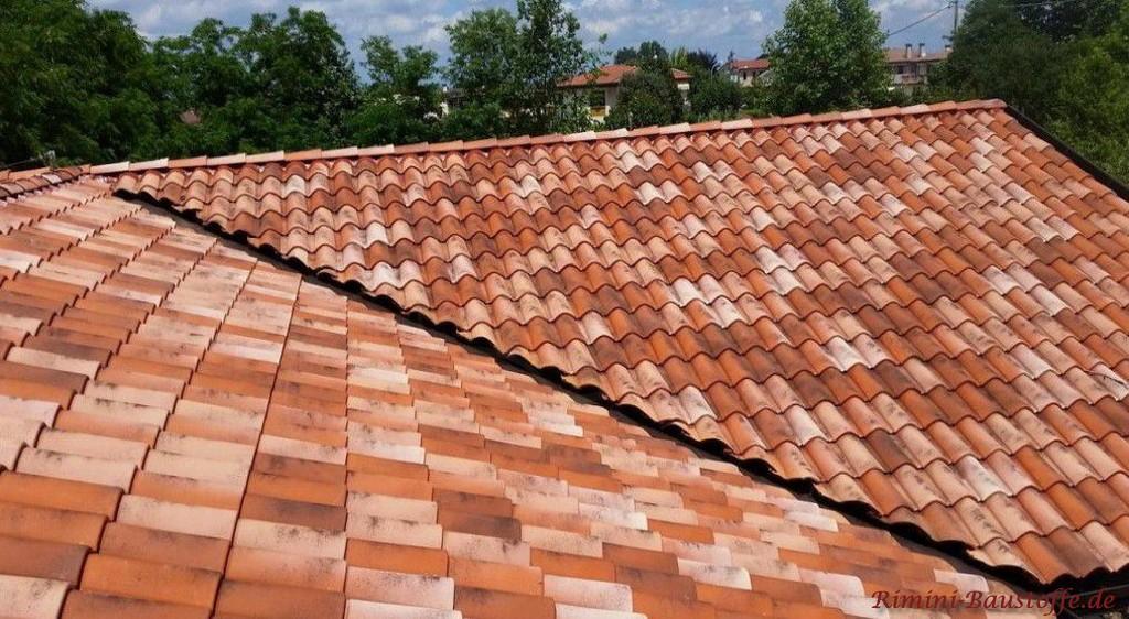 mediterraner Dachziegel San Marco aus Italien