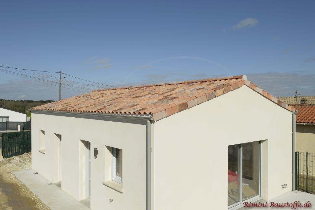 Satteldach im Mediteranen Stil
