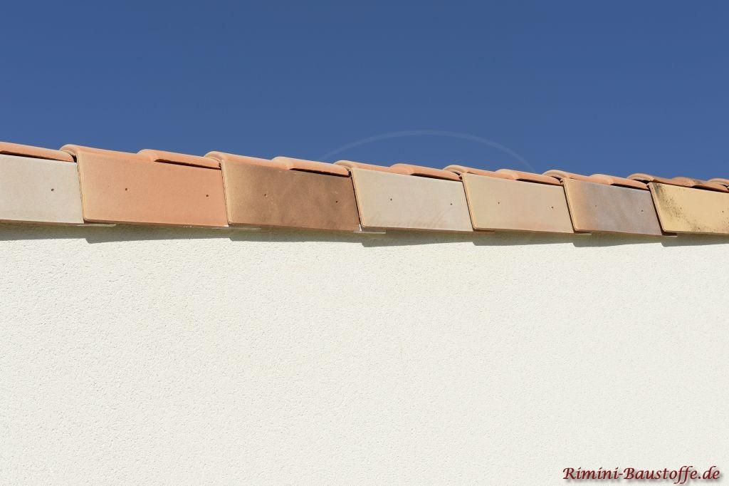 Ortgänge in einer schicken mediteranen Farbe