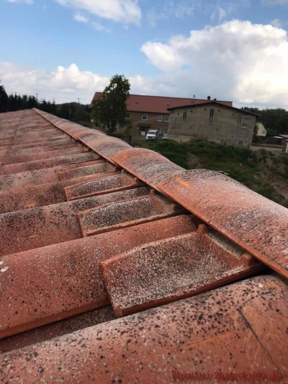 Firsteinleger zum Schutz vor Getier unter dem Dach