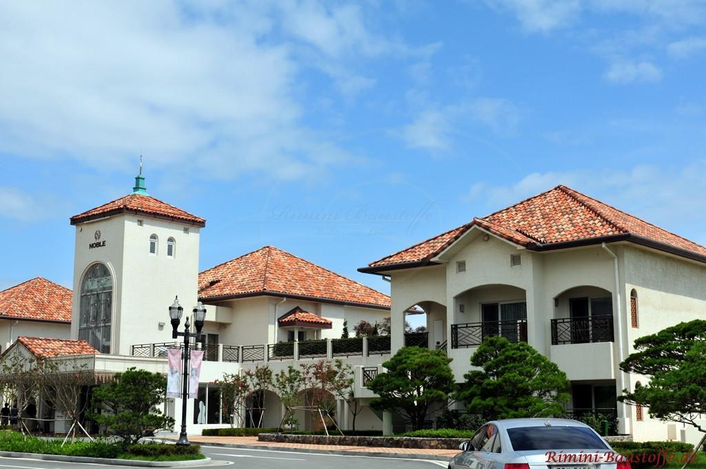 Hotelanlage mit sehr schöner ausgefallener Architektur und vielen Hightlights
