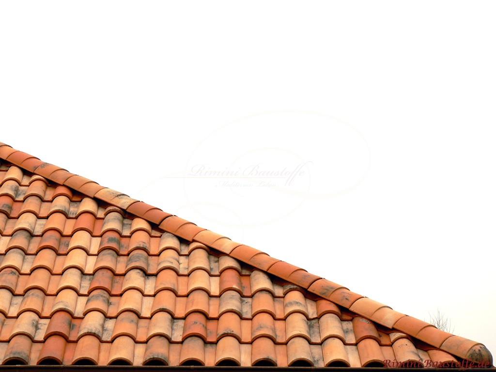 Bildausschnitt eines schönen Daches