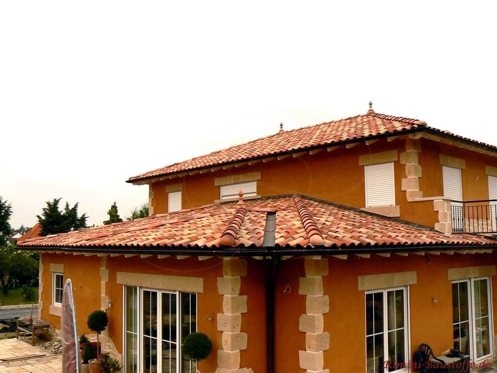 Einfamilienhaus mit südländischen Flair durch viele kleine Accessoires