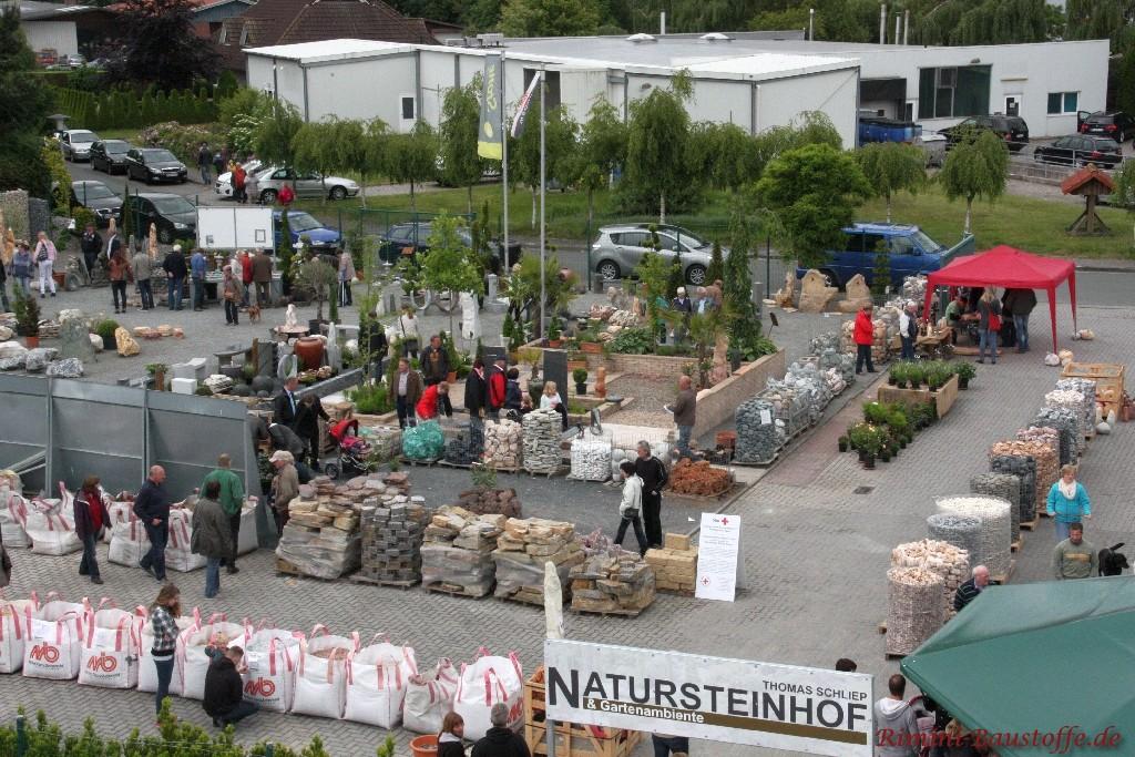 Natursteinhandel Thomas Schliep mit zahlreichen Angeboten