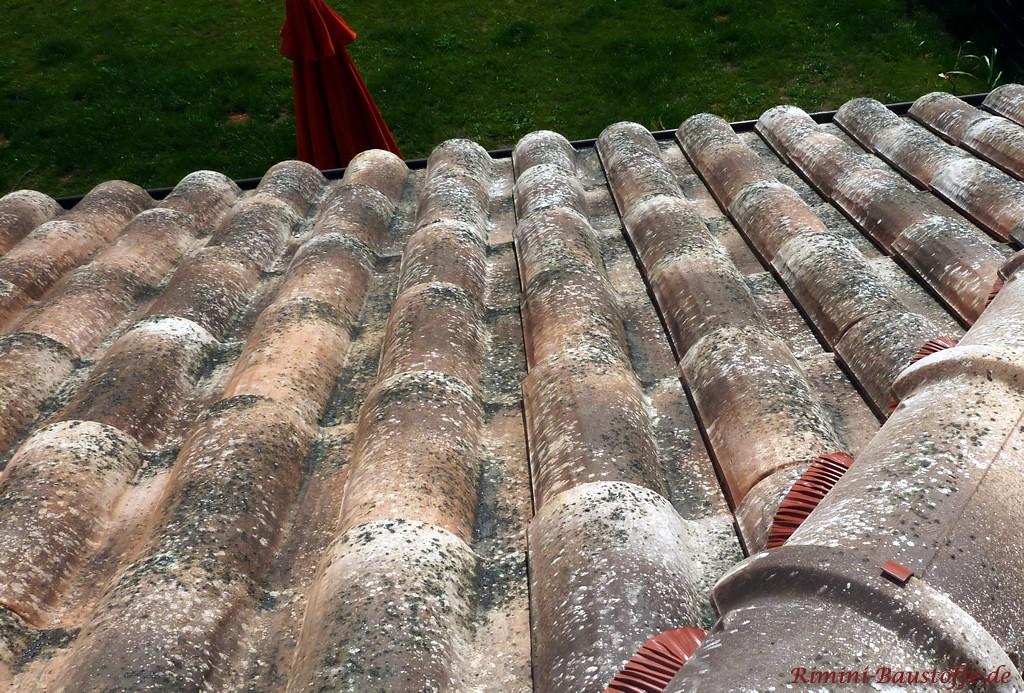 Antike Dachziegel, nach aktueller Norm gefertigt