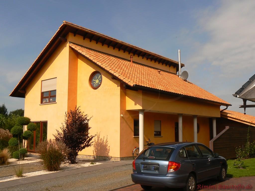 schönes Wohnhaus im modernen mediterranen Stil