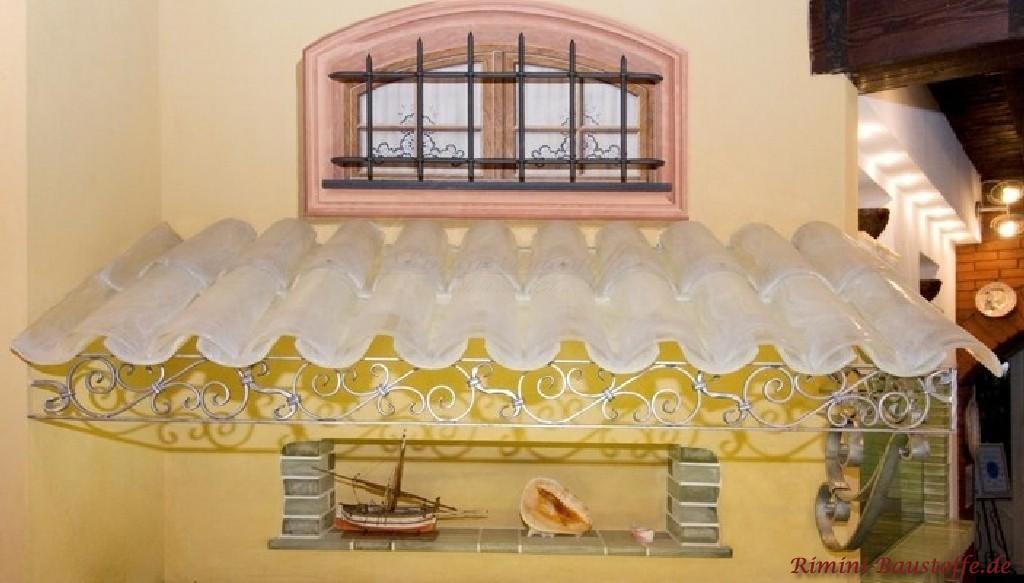 Halbschalen aus echtem Muranoglas