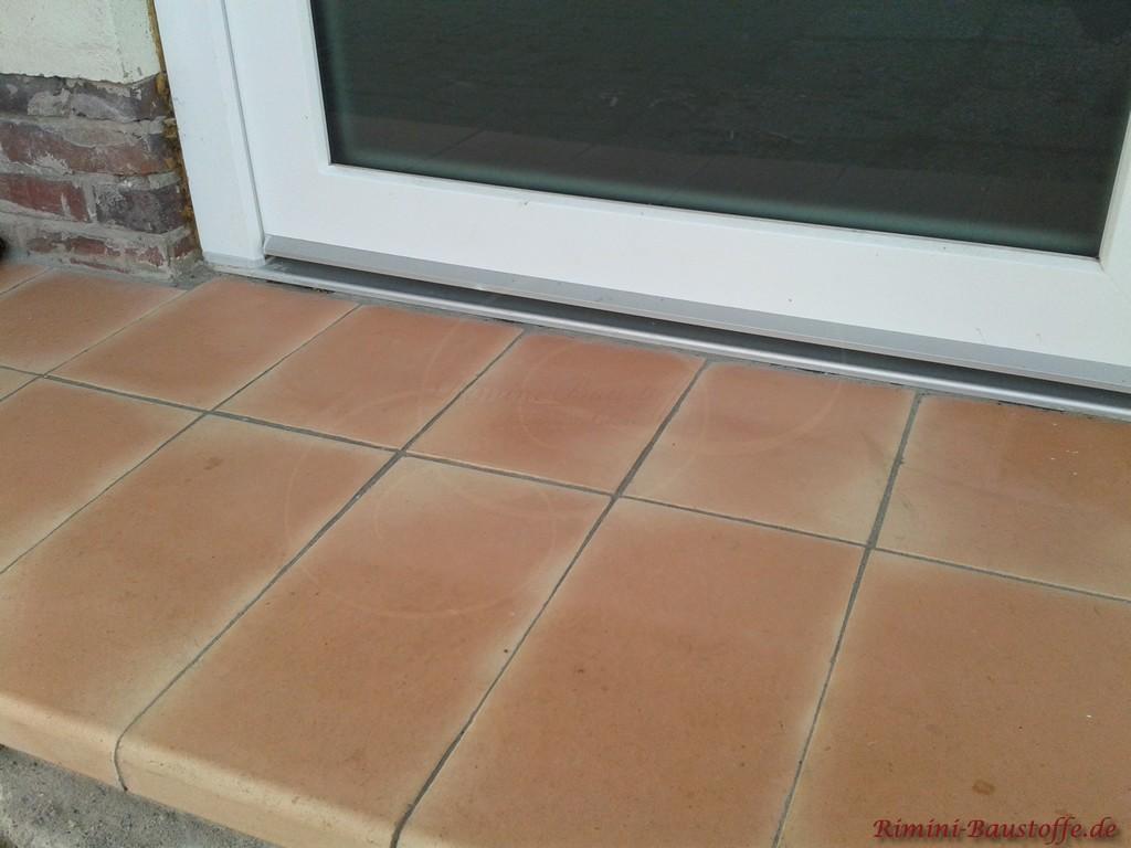 Fensterbaenke auch fuer bodentiefe Fenster und Tueren geeignet