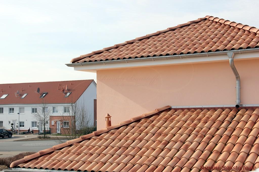 Dachkonstruktion mit mehreren Ebenen
