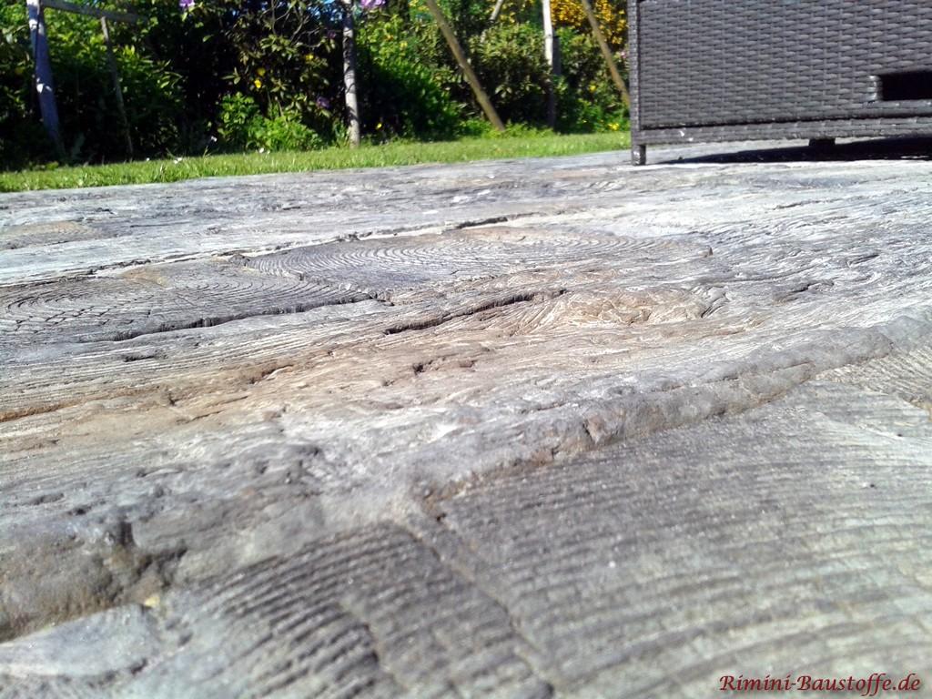 Terassenplatten Nature In Bahnschwellenoptik