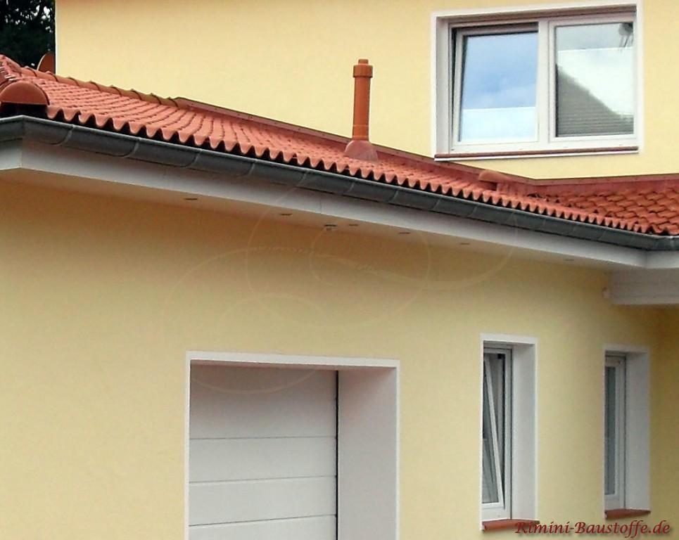 abgestimmtes Gesamtbild von Dach und Fassade