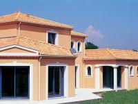 Fassadenfarbe Mediterran bildergalerie referenzen dach und haus