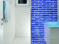 Pietre di vetro farbe cloud blu - Duschwand aus glasbausteinen ...