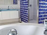 Pietre di vetro farbe soul blu e bianco - Duschwand aus glasbausteinen ...