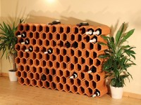 Weinlagersteine Casier 6Trou
