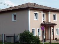 Fassadenfarbe gr nt ne haus deko ideen for Hausfassade braun