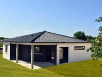 Fassadengestaltung bungalow grau  Fassadengestaltung Bungalow Grau | harzite.com