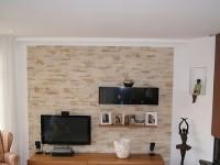 trapped steinwand wohnzimmer beleuchtung diner interior interior