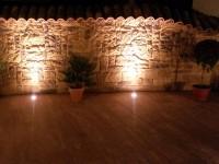 beleuchtung gartenmauer – msglocal, Terrassen ideen