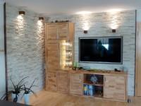 wand und fassade - bildergalerie mit 130 bildern, referenzen und ... - Riemchen Wand Wohnzimmer
