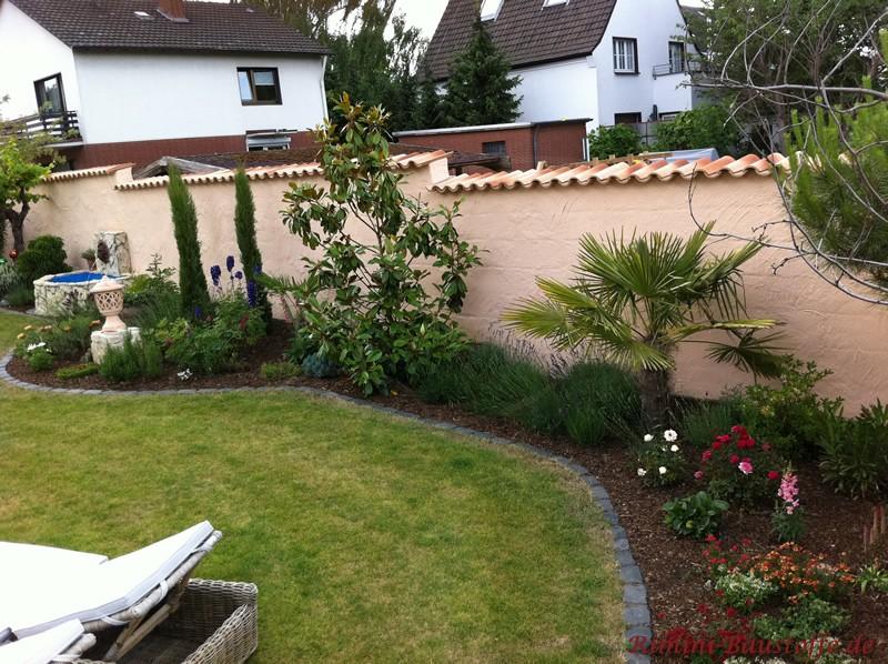 Garten mit mediterranem Flair