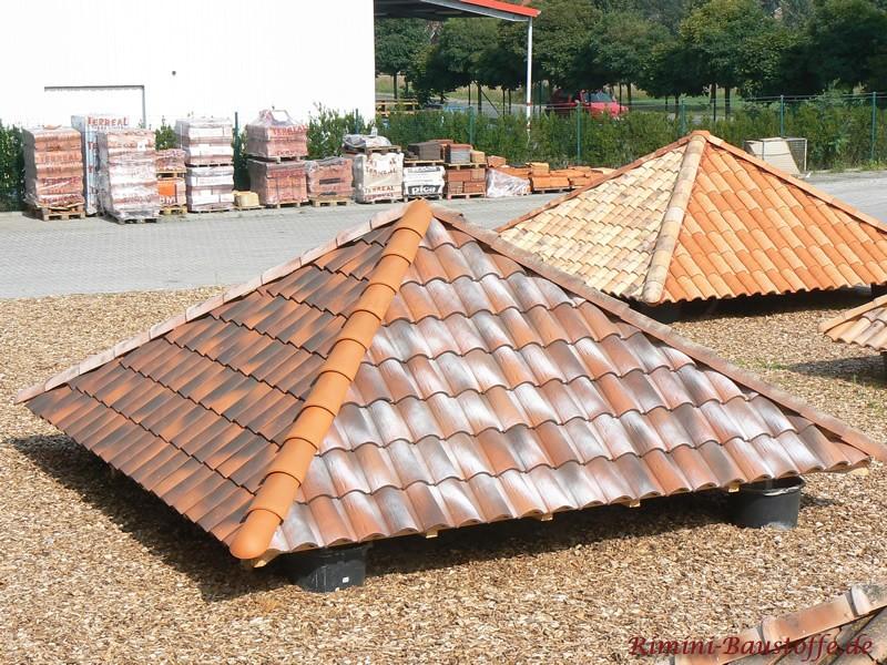 mediterrane Dachziegelausstellung in Apen