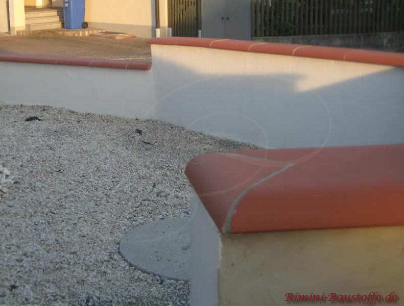 zeitlose Mauerabdeckung