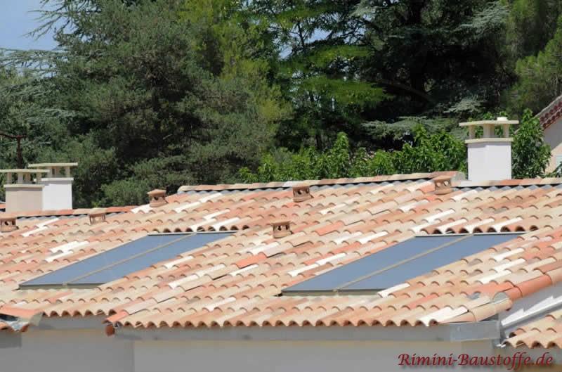 Integrierte Solaranlage