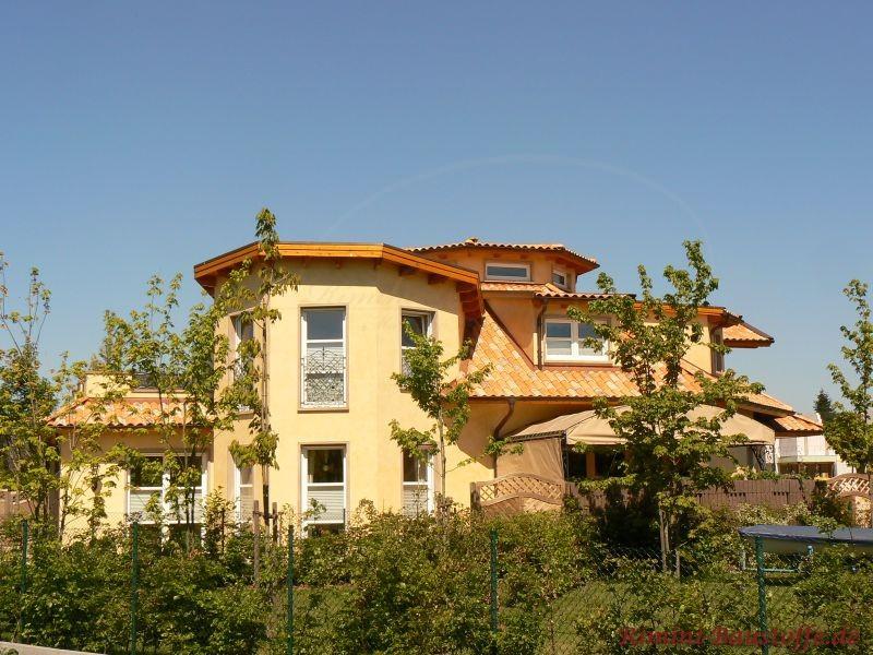 Selbstgeplantes Architektenhaus mit mediterranem Flair