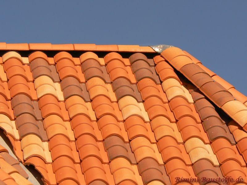 Mehrfarbige Dachziegelmischung aus Frankreich