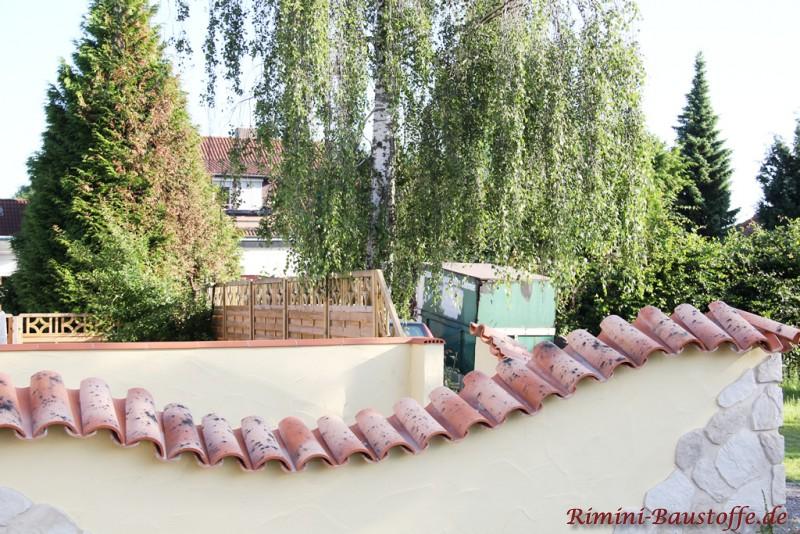 Teja curva farbe viellja castilla bilder - Mediterrane gartenmauer ...