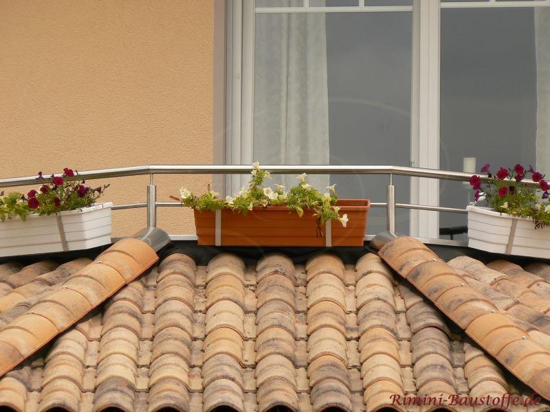 Balkon im mediterranem Stil