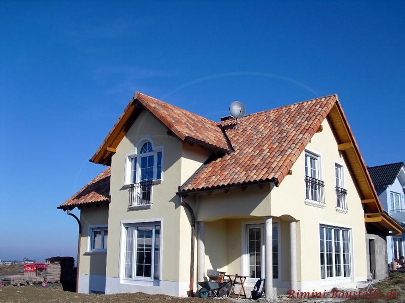 einfamilienhaus mit flair romane canal farbe vieilli castel