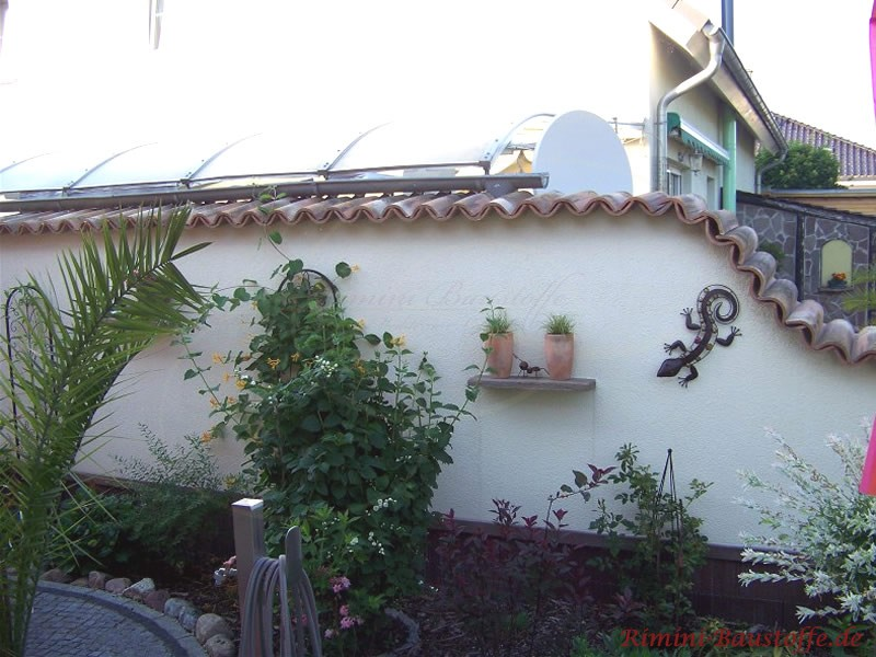 coppo di domenica - farbe rinascimento - mediterrane gartenmauer, Best garten ideen