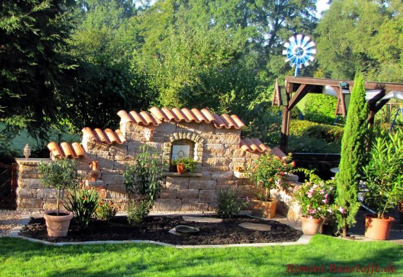 Mediterrane Gartenmauer Mit Fenster – jilabainfosys.net